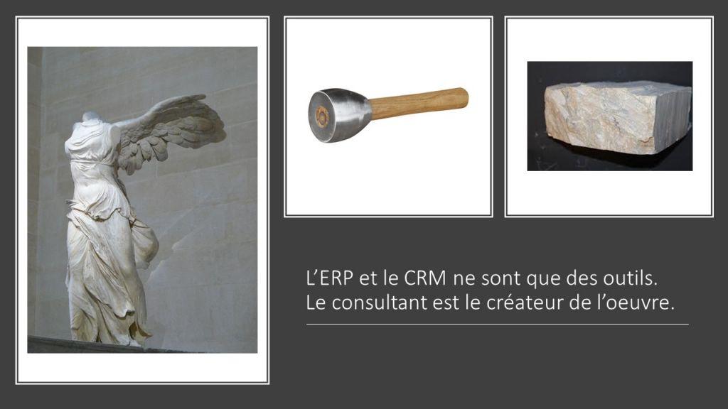 L'art du consultant par rapport aux outils ERP et CRM
